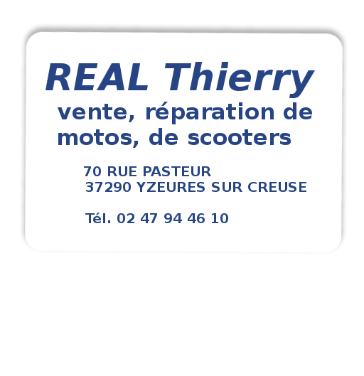 Thierry Real Yzeures sur creuse